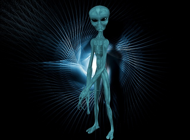 Alien, Fig, Background, Extraterrestrial, Visitors