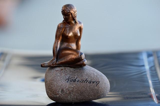 Statue, Woman, Sculpture, Fig, Copenhagen