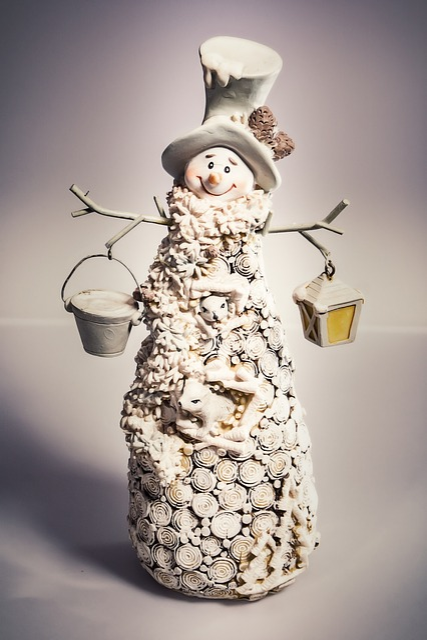 Snow Man, Fig, Christmas, Decoration, Snowmen