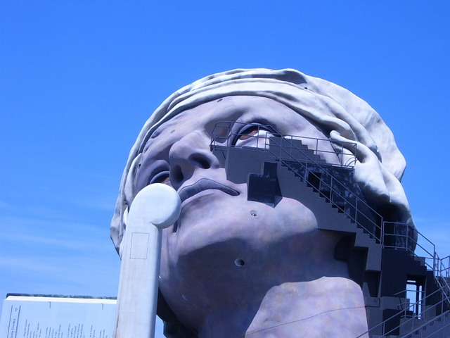 Statue, Bregenz, Face, Fig