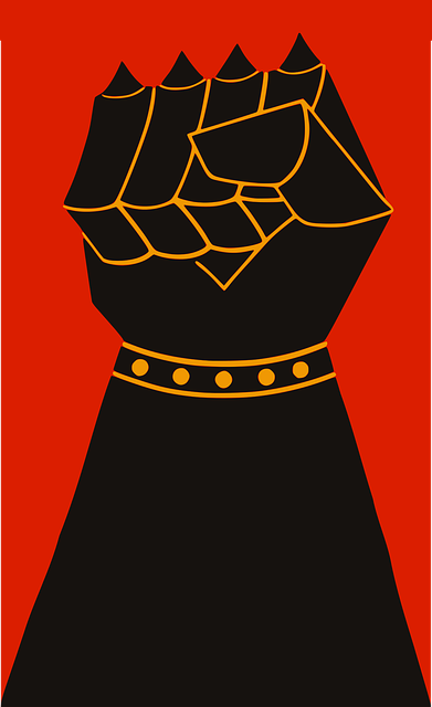 Attack, Fight, Fist, Power, Propaganda, Spikes, War