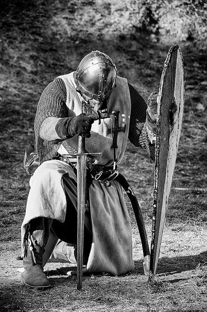 Medieval, Knight, Fight, Sword, Warrior