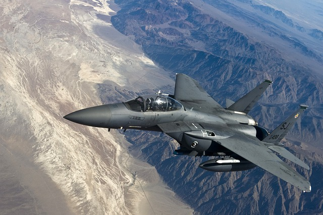 Fighter Jet, F 15 Strike Eagle, Fighter Aircraft