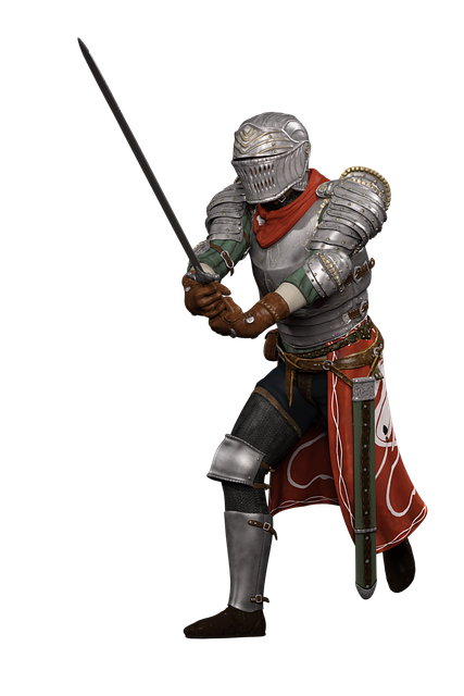 Man, Knight, Fighter, Sword, Courageous, Clothing