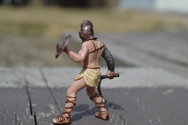 Gladiator, Fighter, Fighting, Combat, Roman, Soldier