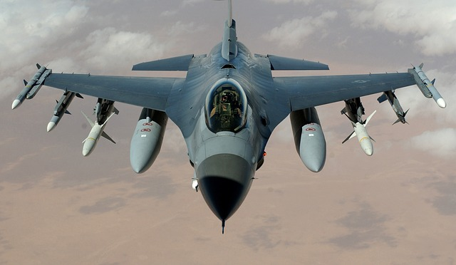 Fighter Jet, Fighter Aircraft, F 16 Falcon, Aircraft