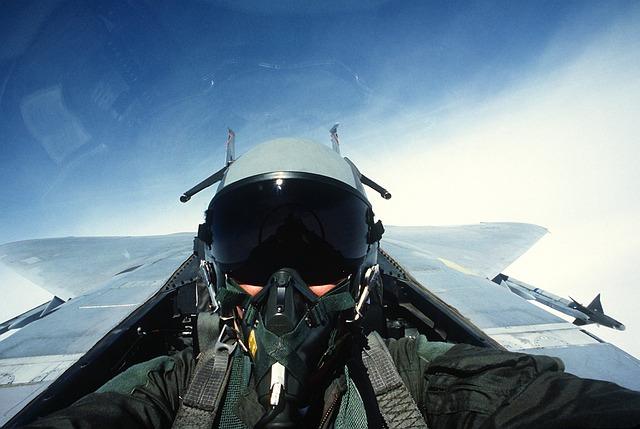 Pilot, Fighter Jet, Jet, Fighter Pilot, Cockpit, Helm