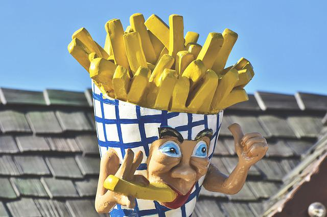French Fries, Figure, Advertising Figure, Advertising