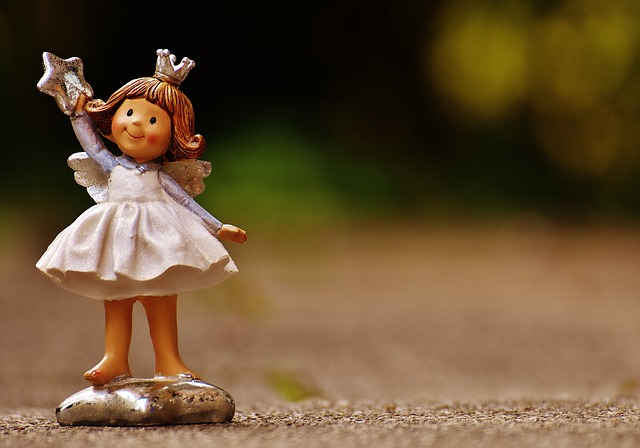 Schutzengelchen, Angel, Figure, Cute, Ceramic, Art