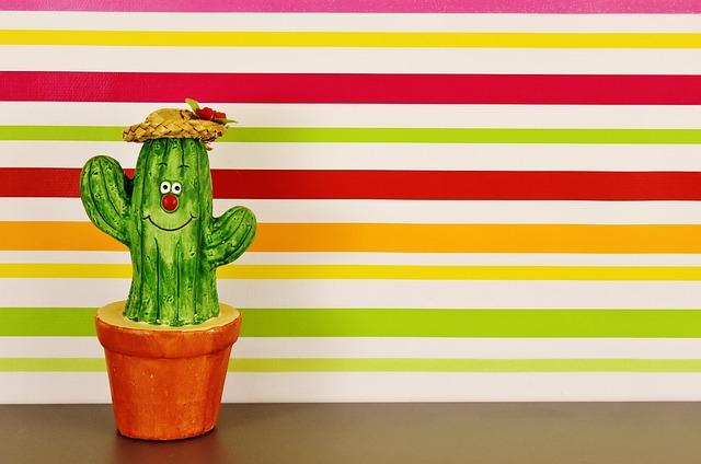 Cactus, Figure, Funny, Fun