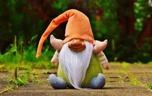 Imp, Figure Fabric, Funny, Cute, Sweet, Gnome