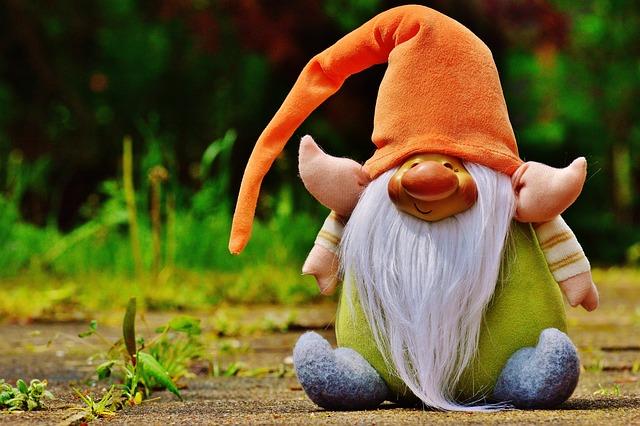Imp, Figure Fabric, Funny, Cute, Sweet, Gnome