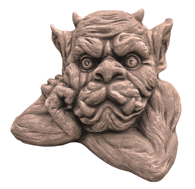 Figure, Dwarf, Gnome, Face, Ceramic, Sculpture, Statue