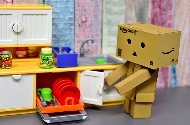 Danbo, Figure, Kitchen, House Work, Funny