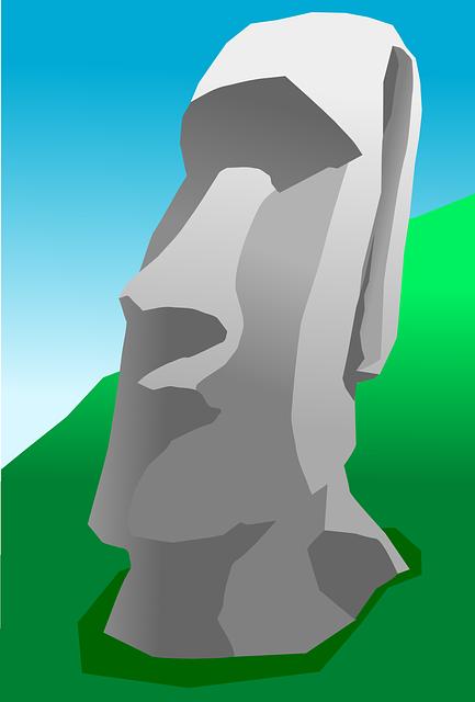 Moai, Easter Island, Stone, Figure, Human, Monolithic