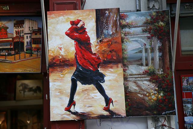 Figure, Montmartre, Painter