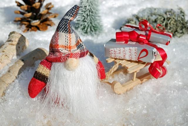 Santa Claus, Christmas Motif, Figure, Nicholas, Slide
