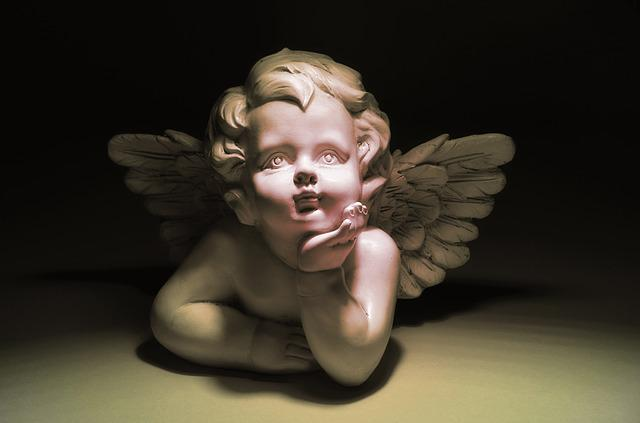 Angel, Figure, Sculpture, Trim, Melancholy, Statue
