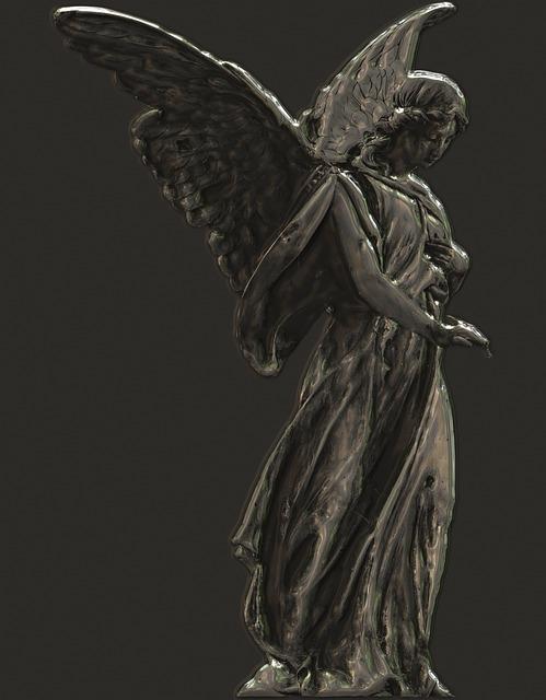 Angel, Wing, Art, Sculpture, Statue, Figure, Figures