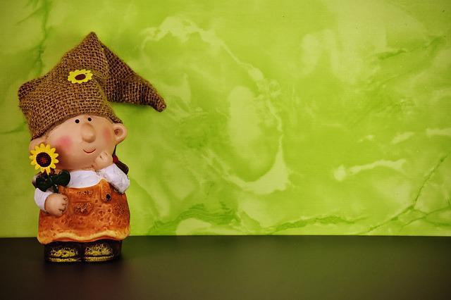 Imp, Spring Imp, Decoration, Dwarf, Cute, Figure