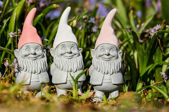 Imp, Spring Imp, Figure, Sweet, Cute, Garden Gnome