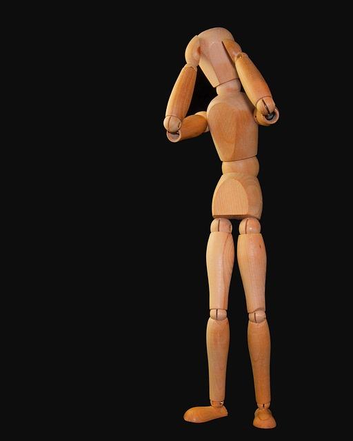 Figure, Man, Stand, Headaches, Headache, Thinking, Doll