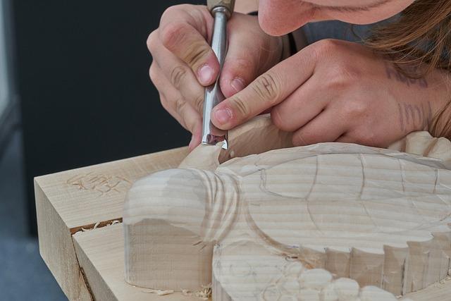Craft, Carve, Wood, Sculpture, Figure, Carving, Carved