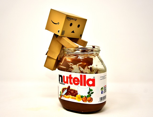 Nibble, Nutella, Danbo, Figures, Funny, Breakfast