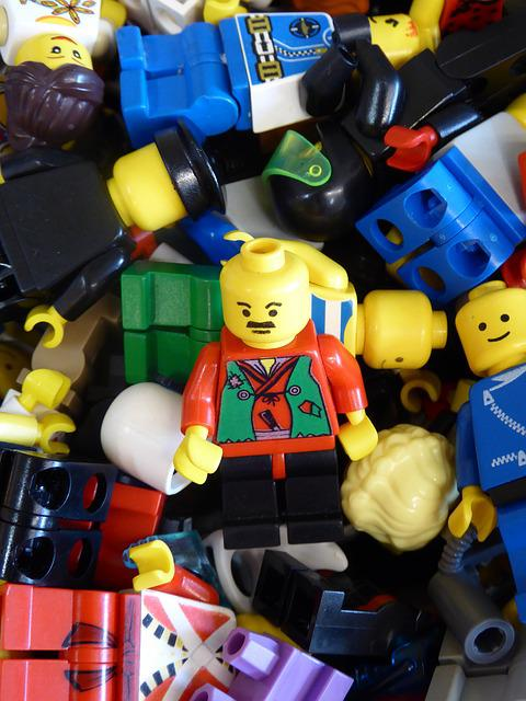 Lego Blocks, Figures, Toys, Legoland, Building Blocks