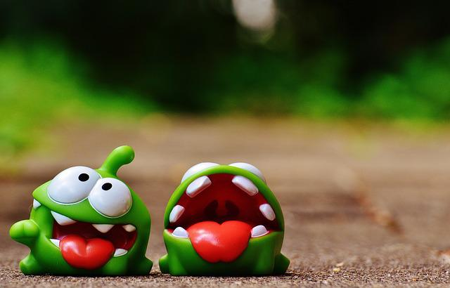 Cut The Rope, Figures, Funny, Cute, Mobile Game, App
