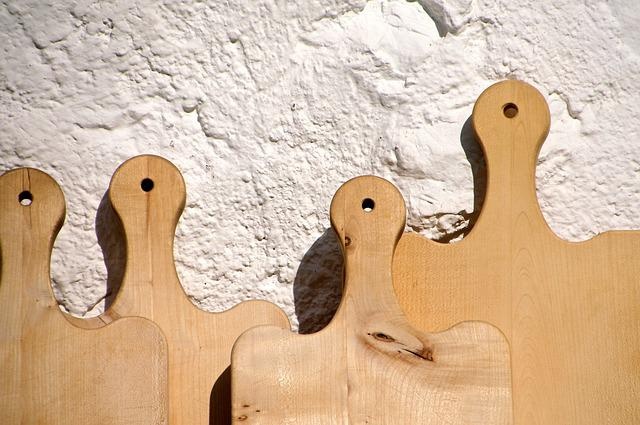 Cutting Boards, Vespers, Mountain Hut, Figures, Theater