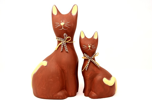 Cat, Figures, Funny, Decoration, Deco, Cute