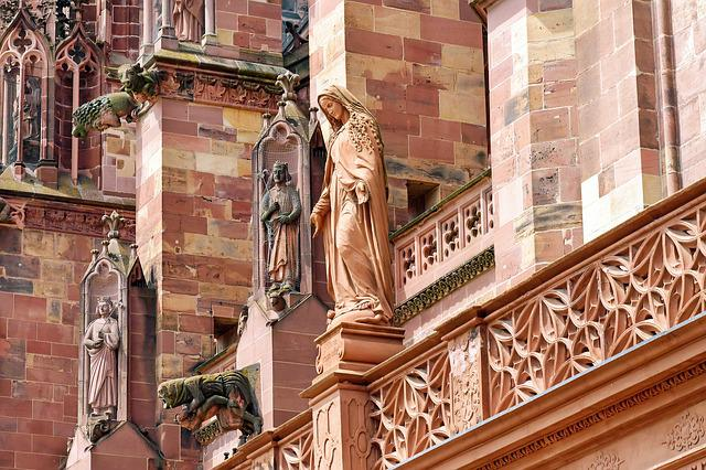 Münster, South Side, Figures, Gothic