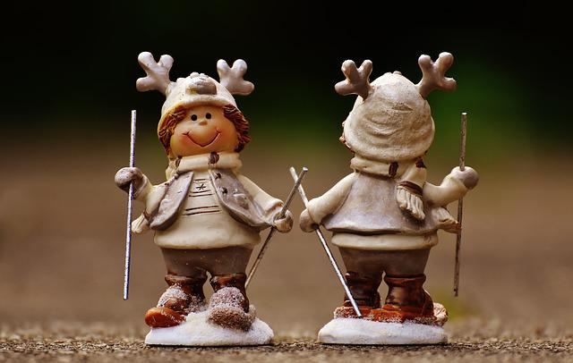 Figures, Moose, Funny, Winter, Christmas, Animal, Deco