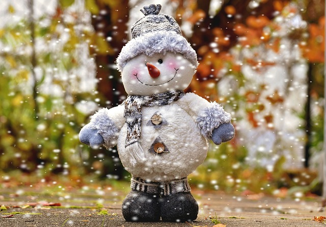 Snow Man, Figure, Snow, Christmas, Decoration, Figures