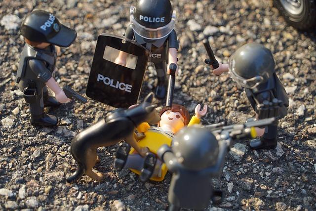 Playmobil, Figures, Toy, Innocent Civilians, Swat