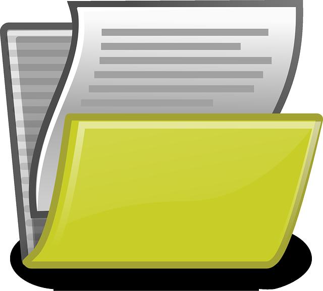 Folder, Files, Paper, Office, Document, Archive