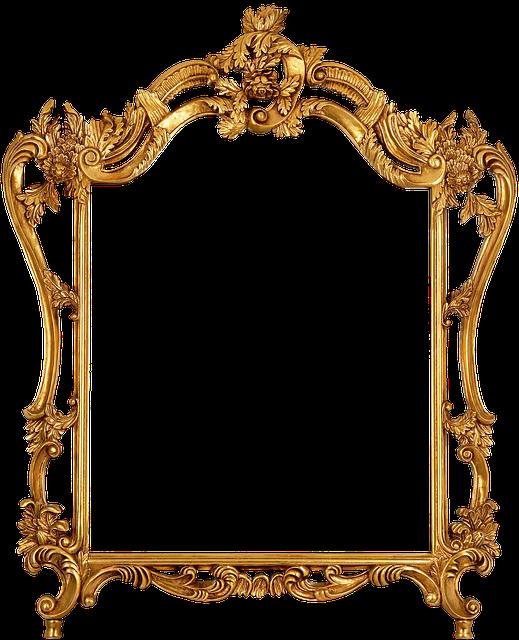 Elegance, Frame, Family, Photograph, Art, Filigree