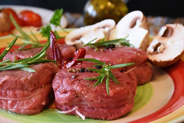 Steak, Meat, Fillet, Food, Meal, Dinner, Beef, Grilled