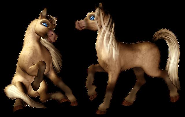 Pony, Horse, Colt, Filly, Foal, Cartoon, Toon, Isolated