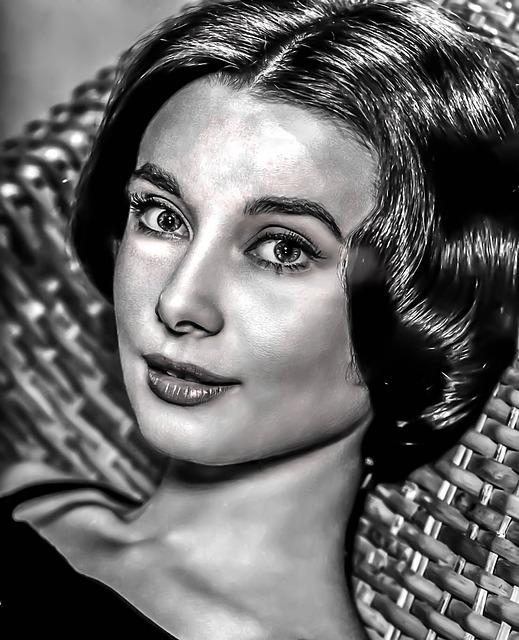 Audrey Hepburn-hollywood, Film, Actress, Gray Film