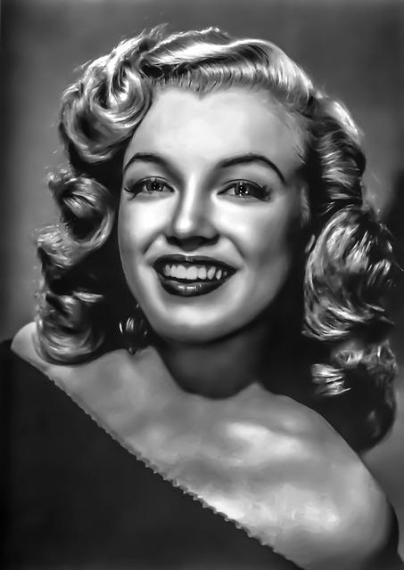 Marylyn Monroe - Female, Portait, Film