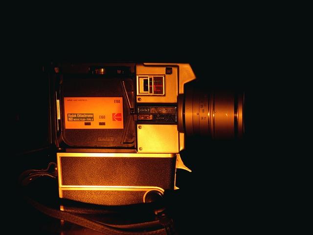 Filmadora, Camera, Vintage, Lens, Camera Lens, Reflex