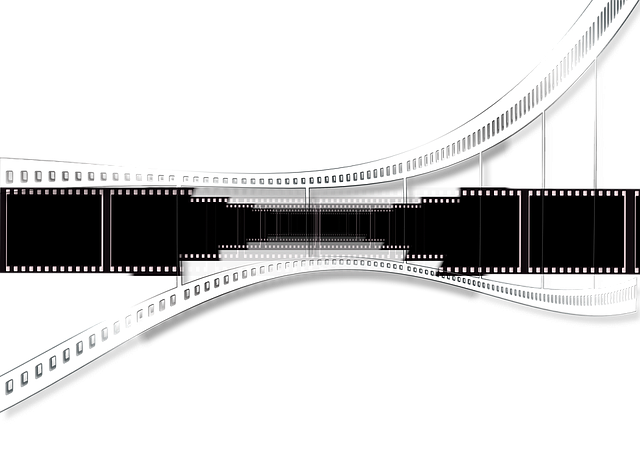 Cinema, Film, Filmstrip, Black, Video, Analog