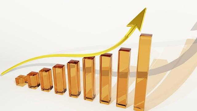 Graph, Growth, Finance, Profits, Dividends, Luck, Bank