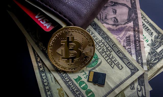 Cryptocurrency, Financial Concept, Blockchain, Money