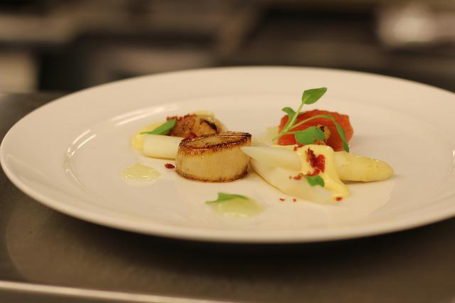 Scallop, Food, Appetizer, Finedining