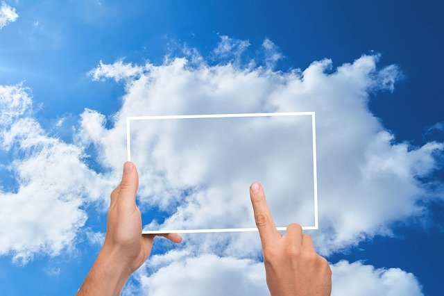 Cloud, Finger, Tablet, Memory, Store, Typing