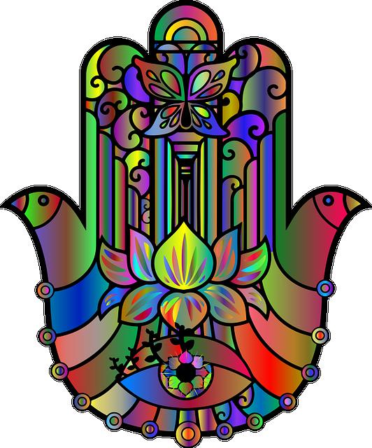 Hand, Decorative, Decoration, Ornamental, Fingers