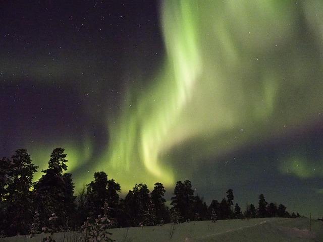 Aurora Borealis, Finland, Inari